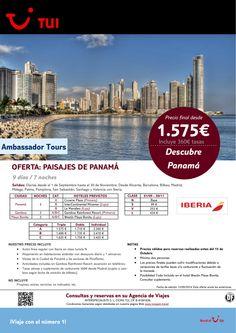 Oferta Paisajes de Panamá 9 días/7 noches.De Septiembre a Noviembre Precio final desde 1.575€ ultimo minuto - http://zocotours.com/oferta-paisajes-de-panama-9-dias7-noches-de-septiembre-a-noviembre-precio-final-desde-1-575e-ultimo-minuto-2/