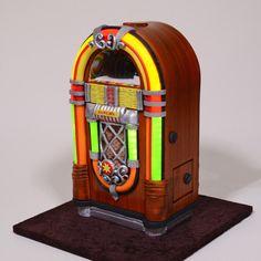 3D Jukebox Cake by Serdar Yener | Yeners Way - Cake Art Tutorials