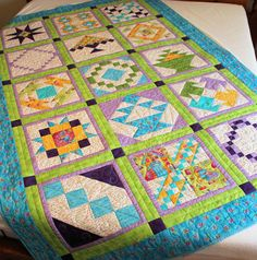 Grandma's House Twin Bed Quilt  57 x 86 by QuiltSewPieceful, $295.00