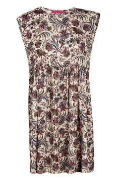 Sasha Paisley Printed Sleeveless Smock Dress at boohoo.com £15