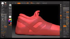 ZBrush Sculpting - Skirt, hair, shoes, hands