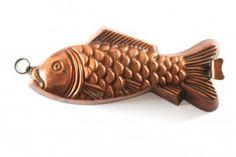 Kupferform Fisch um 1900