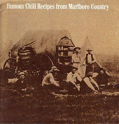 Marlboro Chili Roundup Flavor It Up 50 Winning Recipe Book