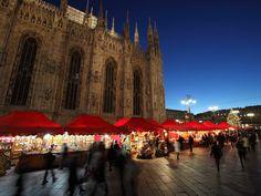 """""""Buongiorno Italia"""" market in Milano (IT)"""