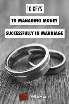 10 Keys to Managing Money Successfully in Marriage