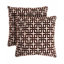 Ric Rac Throw Pillow (Set of 2)