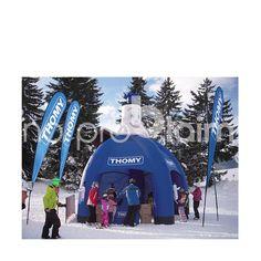 Das aufblasbare Eventzelt für Ihren Werbeerfolg. Luftdichte Pneu-Zelte ohne Gebläse, einfache Handhabung, Iglu, Werbezelt,