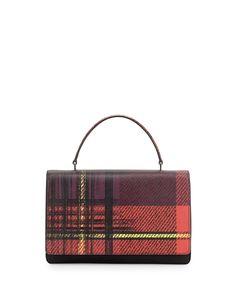 prada backpack sale - Prada Saffiano Print Lips Satchel Bag, Multi (Rosso Dis Lips ...