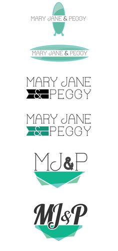 Logo / Branding for Mary Jane & Peggy