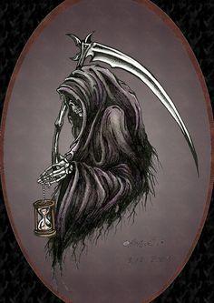 Grim reaper by ~Barguest on deviantART