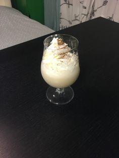 Fireball shake Blend vanilla ice cream and fireball Add whipped cream, cinnamon, sugar, and silver sprinkles