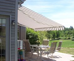 NuImage Patio Awnings Retractable Awnings Are Made In The USA