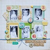 A Project by A2Kate photos from multi years #scrapbooking #scrapbookingidea