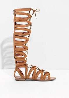 Lace up sandals for Spring Summer 2016