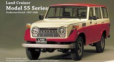 Toyota série 50 (1967-1980)