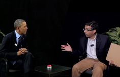 'Between Two Americas': Dinesh D'Souza Movie Promo Spoofs Obama's 'Between Two Ferns'-Watch...America The Movie coming to theaters this summer!