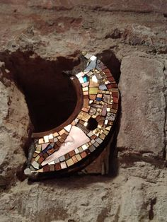 Mosaico di Stefano Mazzotti collocato presso Cripta Rasponi, Ravenna (RA) in mostra temporanea
