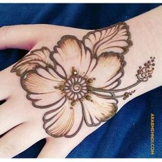 50 Most beautiful Cute Mehndi Design (Cute Henna Design) that you can apply on your Beautiful Hands and Body in daily life. Henna Designs Arm, Floral Henna Designs, Mehndi Designs Book, Mehndi Designs For Girls, Mehndi Designs 2018, Mehndi Designs For Beginners, Modern Mehndi Designs, Bridal Mehndi Designs, Arabian Mehndi Design