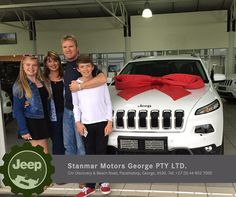 Congratulations to Andrew Claasen on purchasing a brand new #Jeep Cherokee 3.2 Limited. We thank you and wish you many happy adventures ahead, from #TeamStanmar . Sold by Alred - 044 802 7000. #ItsAJeepThing