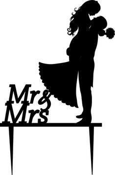 wedding-cake-topper-silhouette-groom-and-bride