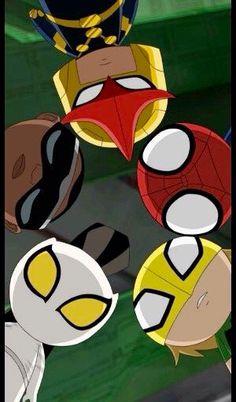 White Tiger, Power Man, Nova, Spider-Man and Iron Fist
