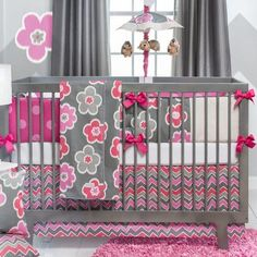 Wish Shae could have had a beautiful crib set!! We will get her a beautiful bed spread when we turn it into her toddler bed!! :)