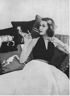 June Vogue 1956, Karen Radkai