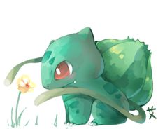 bulbasaur with vines