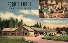 Ponds Lodge Island Park Idaho