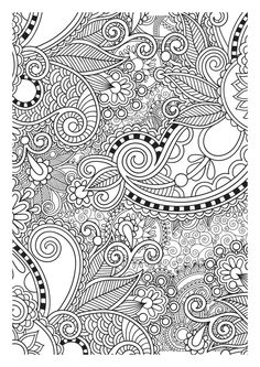 Coloring For Adults Adult Books Pages Mandala Doodle Ideas Zentangle Wallpaper