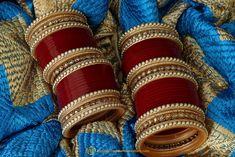 Maroon Wedding Bridal Chura By Punjabi Traditional Jewellery