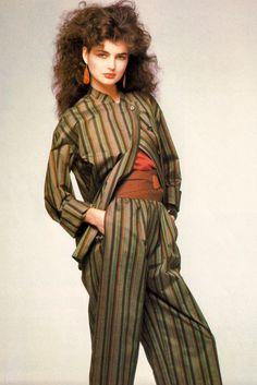 Arthur Elgort for Vogue Patterns magazine, May/June 1982. Pattern by Calvin Klein.