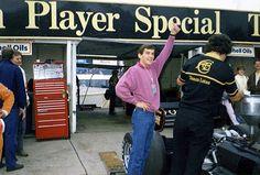 A-okay … Ayrton Senna, JPS Lotus-Renault 98T, 1986 British Grand Prix, Brands Hatch