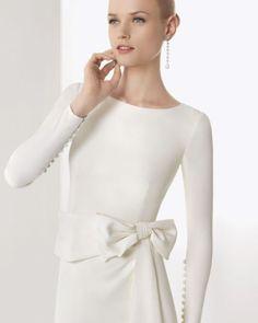 Rosa Clara wedding gown| Chanel wedding theme ideas