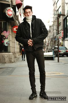 Superb awesome Korean Street Fashion by www.globalfashion… The post awesome Korean Street Fashion by www.globalfashion…… appeared first on Fashion . Korean Street Fashion, Asian Men Fashion, Korean Fashion Winter, Korean Fashion Trends, Korea Fashion, Trendy Fashion, Fashion Styles, Fashion 2015, Trendy Clothing
