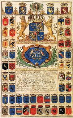 Charter of Ratification of the Peace Treaty of Kardis and the Pliuisa Agreement, sent by King Charles XI of Sweden to co-tsars Ivan V and Peter I, dated January 7, 1684.
