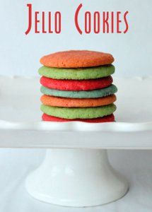 Low-Sugar Jello Cookies from @FaveHealthy Recipes