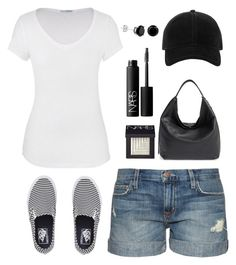 """""""Vans"""" by cindycook10 ❤ liked on Polyvore featuring Vans, maurices, Current/Elliott, Rebecca Minkoff, NARS Cosmetics and rag & bone"""