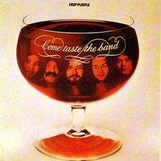 Cover from Come Taste the Band, Deep Purple. Deep Purple rocks and Deep Purple Lives on.