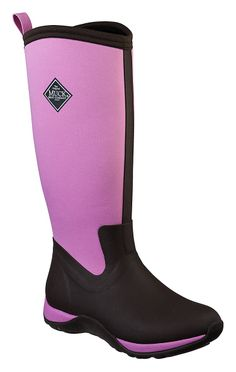 The Original Muck Boot Company® Adventure Tall 15'' Waterproof Winter Boots for Ladies - Chocolate/Dusty Pink   Bass Pro Shops