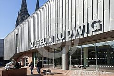 Ludwig Museum in the city of Cologne, Germany