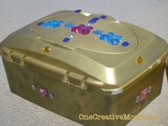 I love the idea of baby wipe treasure chests too...