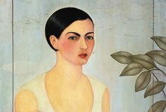"""Frida Kahlo painted a """"Renaissance"""" style portrait of her younger sister Cristina in 1928. (© Christie''s Images/CORBIS)"""