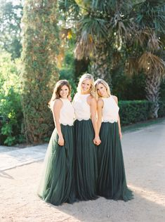 Blues, Greens, & Grays from Revelry are the perfect colors for vibrant spring bridesmaids looks. Mix and match tulle, chiffon, sequin, and lace styles to create the unique look that compliments both your wedding theme and each bridesmaid size 0-32.
