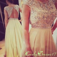 Its so elegant, and the beading is so intricate, I'd feel like a princess
