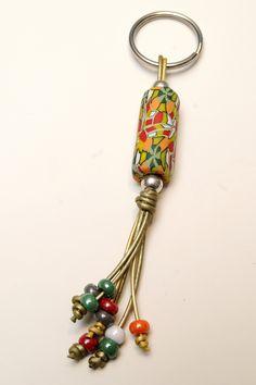 Leather keychain with angel and zamak star. Beaded Jewelry, Handmade Jewelry, Leather Keychain, Tassel Keychain, Bijoux Diy, Jewellery Display, Jewelry Crafts, Jewelery, Charms