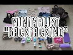 Good tips for any trip, but I'll definitely look back at it if I ever get to go backpacking :)