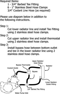 Thermostat system for the water cooled two stroke