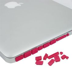 Skque Hot Pink Anti Dust Plug Cover for Apple MacBook Pro Air 11 13 15 by Skque, http://www.amazon.com/dp/B007NEZIJ4/ref=cm_sw_r_pi_dp_o2xErb0Q7WWEB