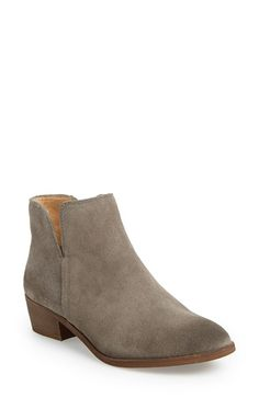 Splendid 'Hamptyn' Almond Toe Ankle Bootie (Women) available at #Nordstrom...Love the champagne crackle suede color!